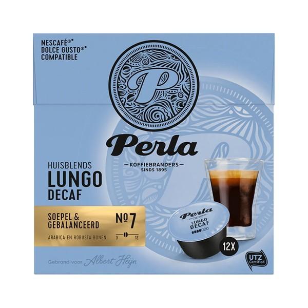 Perla Dolce gusto capsules Lungo decaf 12 stuks