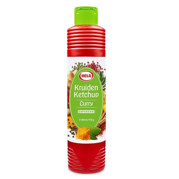 Hela Curry kruiden Ketchup Superieur 800 ml