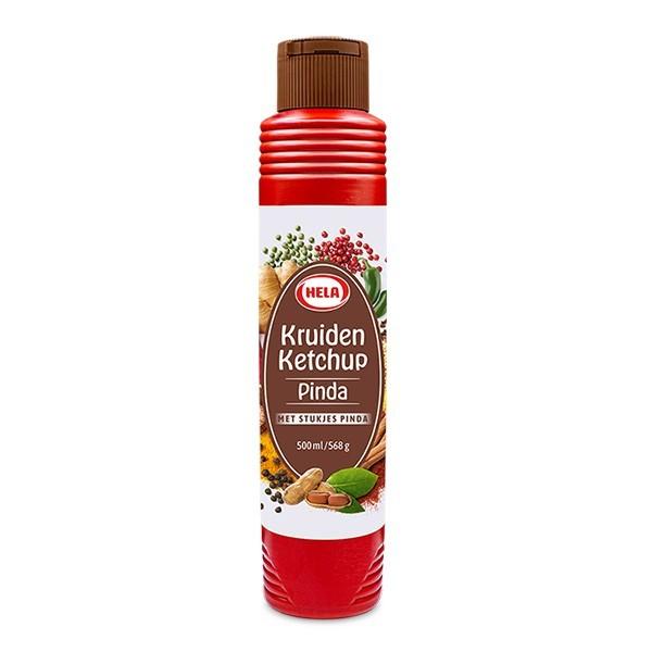 Hela Pinda kruiden Ketchup 500 ml