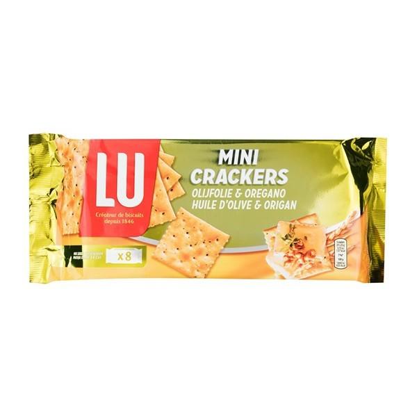 LU Mini crackers olijfolie & oregano 250 gram