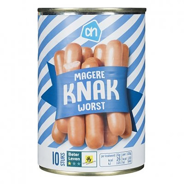Huismerk magere Knakworst 400 gram