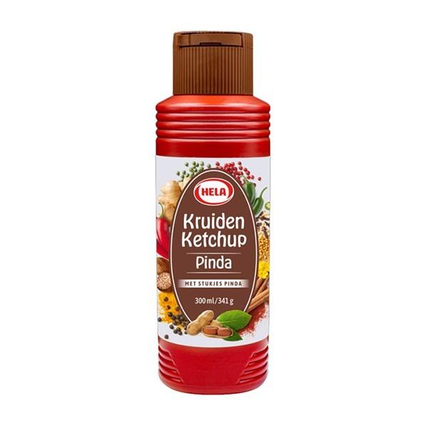 Hela Pinda kruiden Ketchup 300 ml