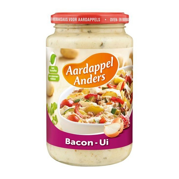 Aardappel Anders Bacon-ui 390 ml
