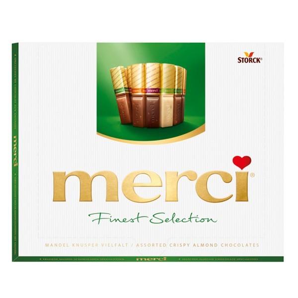 Merci Finest selection Amandel 250 gram