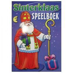 Sinterklaas Puzzel en Speelboek