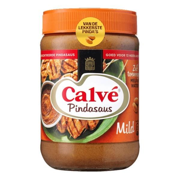Calvé Pinda Satésaus mild XL 650 Gram