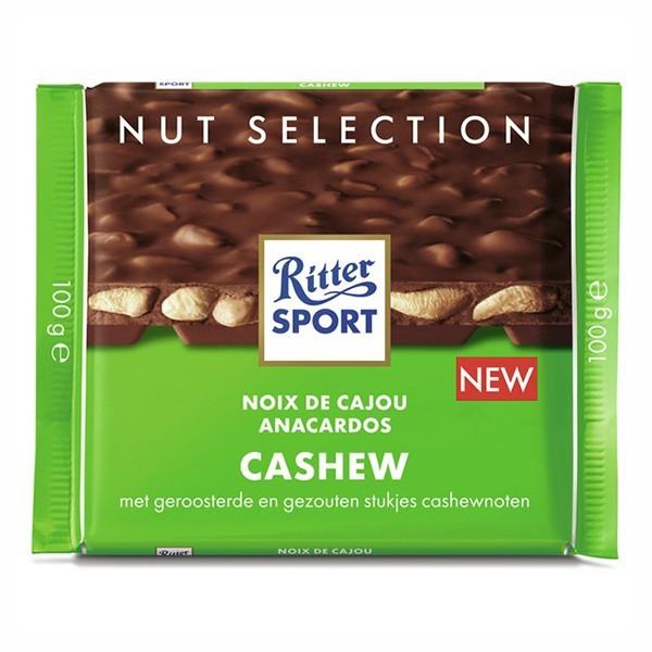Ritter-Sport Melk - Cashew 100 gram