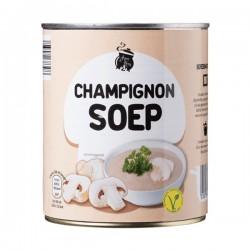 Huismerk Champignon soep in blik 800 ml