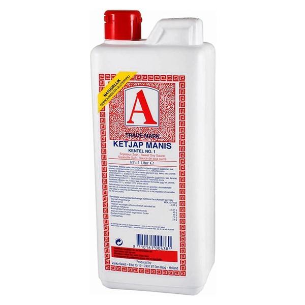 A Trade Mark Ketjap manis Kentel No. 1 1 liter