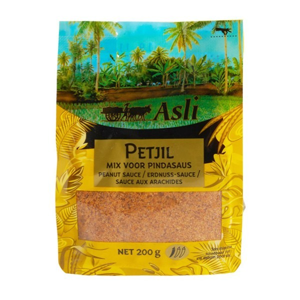 Asli Petjil mix voor pindasaus 200 gram