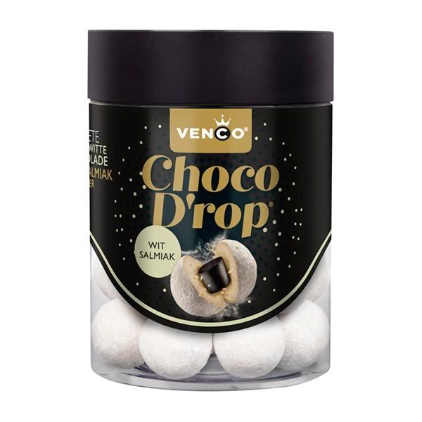 Venco Choco drop wit-salmiak 146 Gram