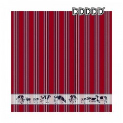 DDDDD Theedoek Friesian rood