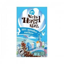 Albert Heijn Hagelslag Melk minder suiker 250 Gram