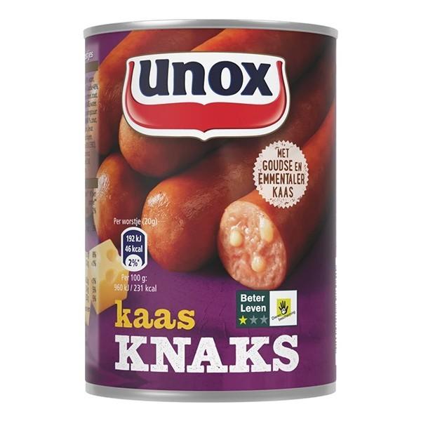 Unox Kaas Knaks 400 gram