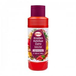 Hela Curry kruiden Ketchup extra hot 300 ml