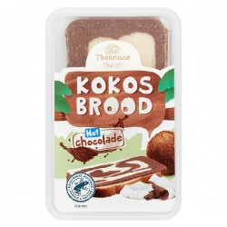 Theunisse Kokosbrood chocolade 275 gram