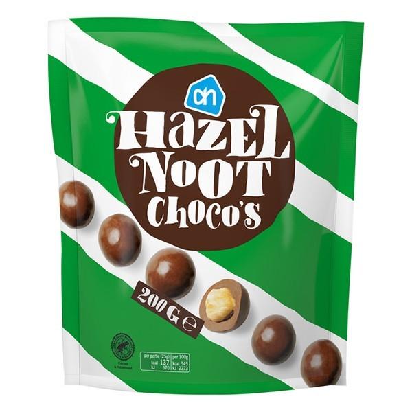 Albert Heijn Choco hazelnoten 200 gram