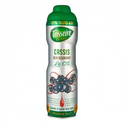 Teisseire 0% suiker Cassis 600 ml
