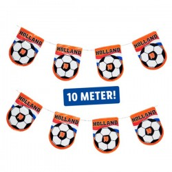 Oranje Voetbal vlaggenlijn