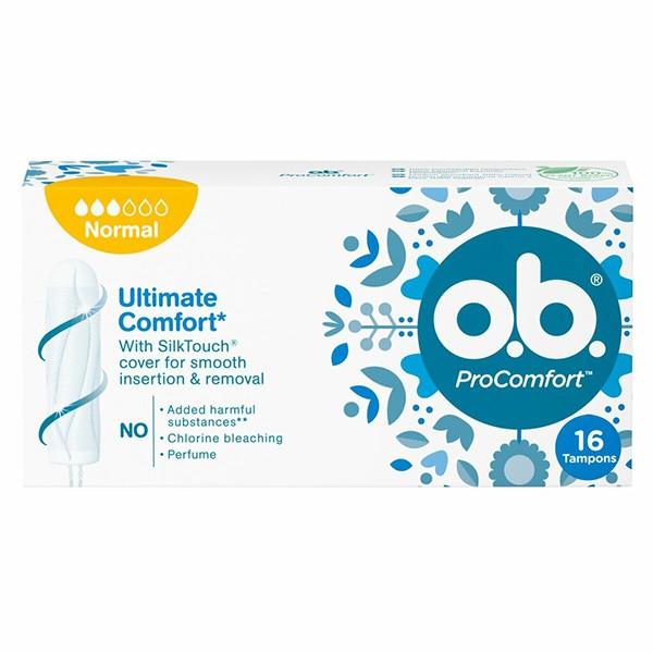 o.b. ProComfort normaal tampons 16 stuks