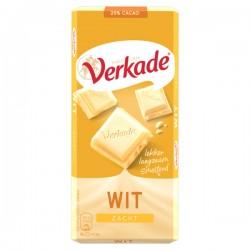 Verkade chocolade reep Wit 111 gram