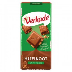 Verkade chocolade reep Hazelnoot 111 gram