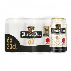 Hertog Jan 0.0 Bier 6-pak blikjes