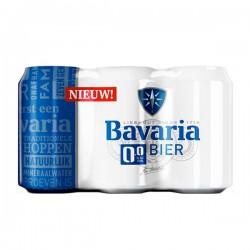 Bavaria 0.0 Bier 6-pak blikjes