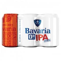 Bavaria IPA 0.0 bier 6-pak blikjes