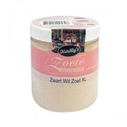 Kindly's Zwart-wit zoet XL pot 150 gram