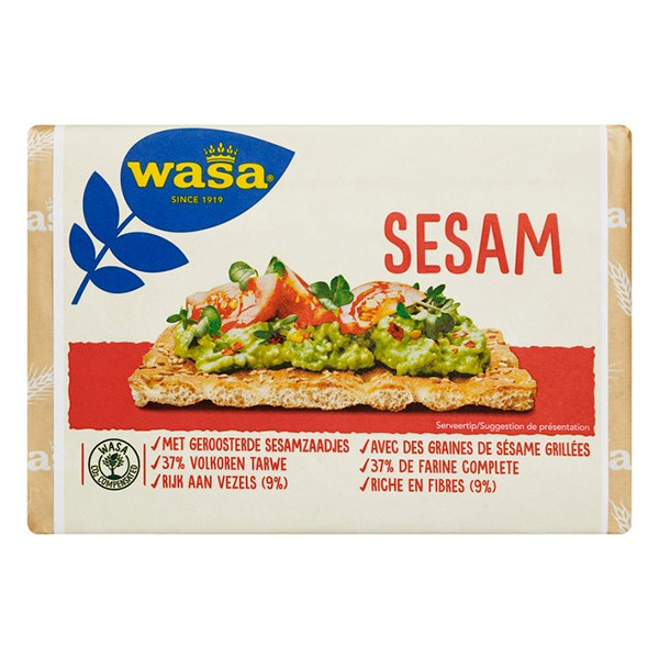 Wasa Knackebrod Sesam 250 gram