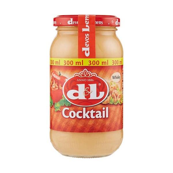 D & L Cocktail whisky saus 300 ml
