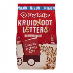 Bolletje Kruidnoot letters 200 Gram