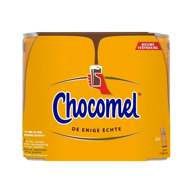Chocomel Vol 6 x 250 ml blikjes