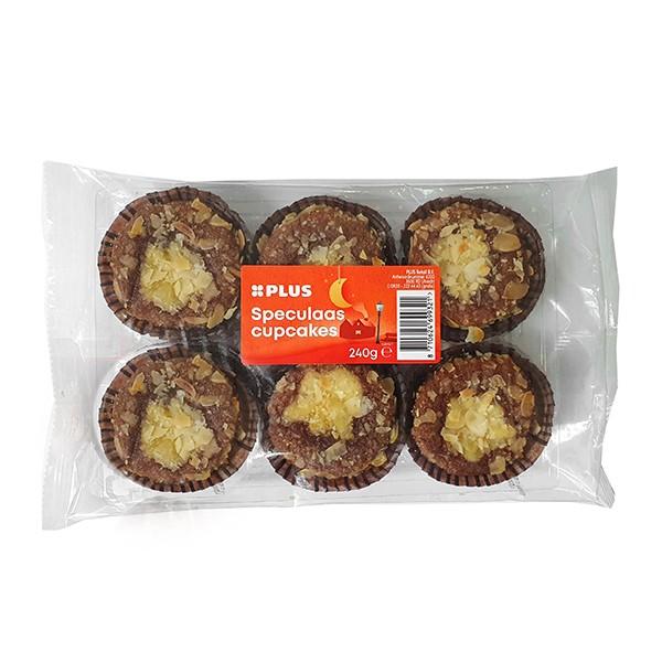Albert Heijn speculaas cupcakes 6-pak