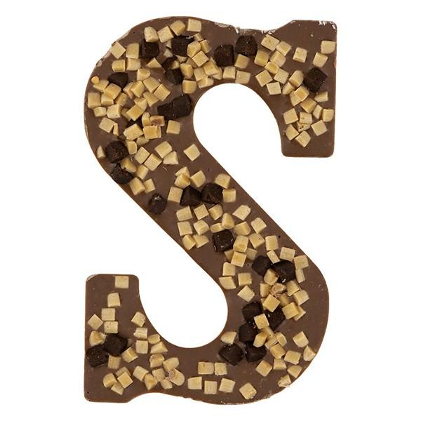 Hema Chocolade letter Brownie-fudge