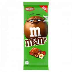 M&M's Chocoladereep Hazelnoot 165 gram