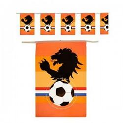 Oranje vlaggenlijn met Leeuw 10 meter
