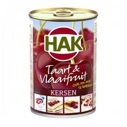 Hak Taart & Vlaaifruit Kersen 430 gram