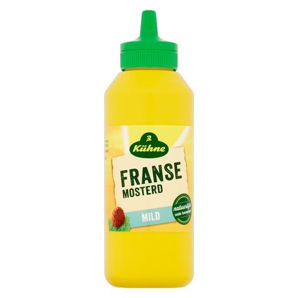 Kühne Franse Mosterd mild 265 gram