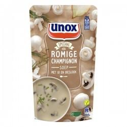Unox Soep in zak romige Champignonsoep 570 ml