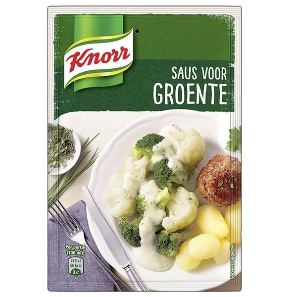 Knorr saus Groente