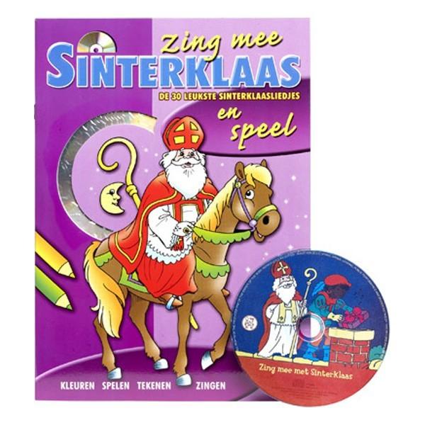 Sinterklaas Speelboek met CD