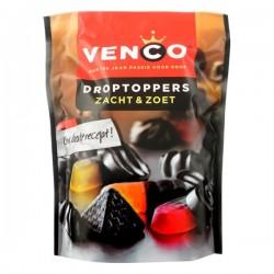 Venco Droptoppers Zacht & Zoet 270 Gram