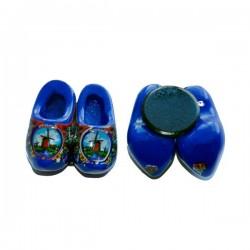 Klompjes Koelkast magneet -Blauw-