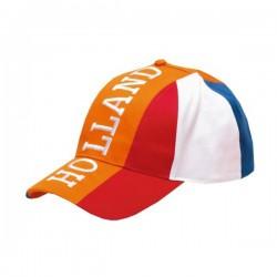 Rood-wit-blauwe Cap -Holland- kindermaat