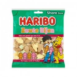 Haribo Zoute rijen 175 gram