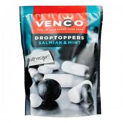 Venco Droptoppers Salmiak & Mint 270 Gram