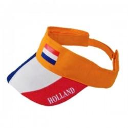 Rood-wit-blauwe Zonneklep Holland