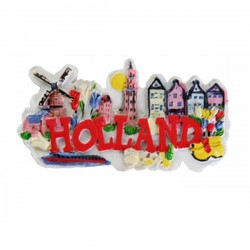Koelkast magneet -Holland-